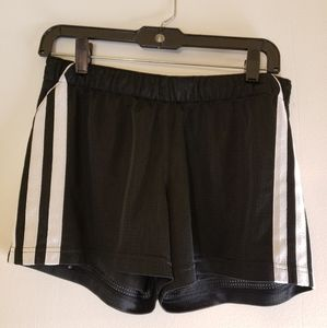 Adidas Women's Shorts Workout Black White Size Me